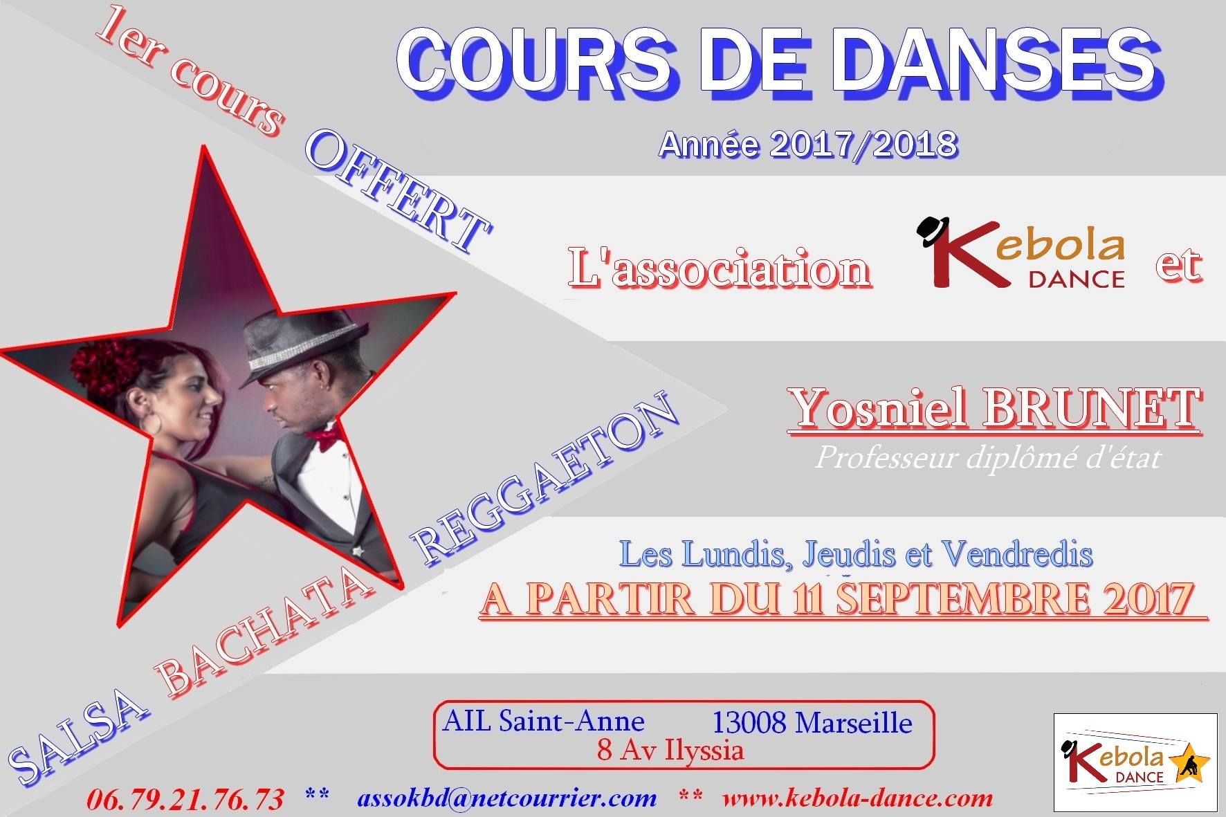 cours salsa 20107 2018